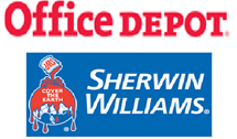 21 Office Depot Sherwin Williams
