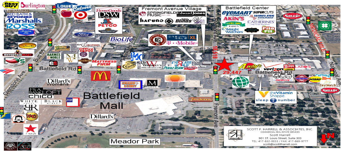 1364 E. Battlefield Rd - FOR LEASE - Springfield, MO